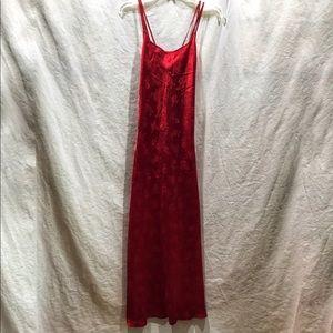 Victoria Secret Long Red Nightgown/Slip